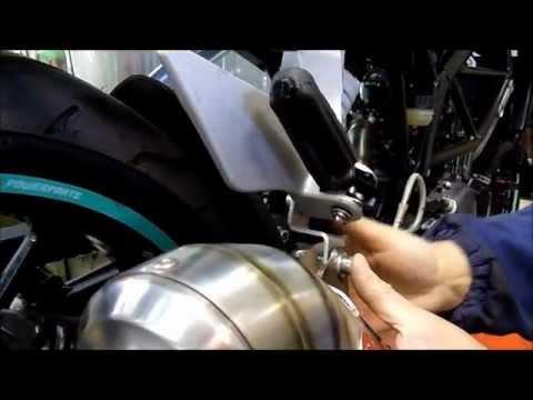 KTM DUKE 125-200 GPR FITTING INSTRUCTIONS ISTRUZIONI DI MONTAGGIO GPR SCARICO