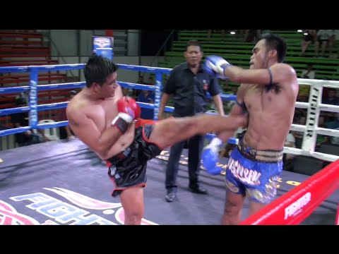 Jongsanan (Tiger Muay Thai) vs Pornpanom (KMAC Gym) @ Rawai Boxing Stadium 16/4/16