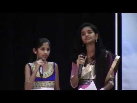Shreya And Keerthi Sing Gananayakaya At 1st Tantex Reunion Day At Colleyville Center On Dec 5th 2014 video