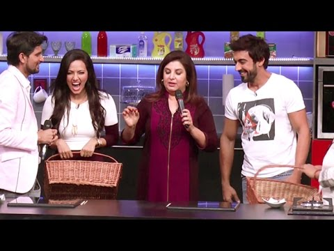 Farah Ki Daawat | Sana Khan And Ashish Choudhary Cook Together - Full Episode