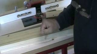 Making Shaker Doors Using a Router Table - A Woodworkweb woodworking video