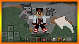 Minecraft PE - Mekanik Moblar Eklentisi (iOS, Android) Download