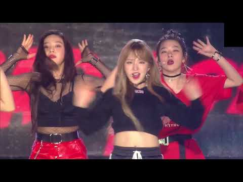 180512 Red Velvet(레드벨벳)- Bad Boy + Red Flavor + 레드카펫 @드림콘서트 2018 Dream Concert