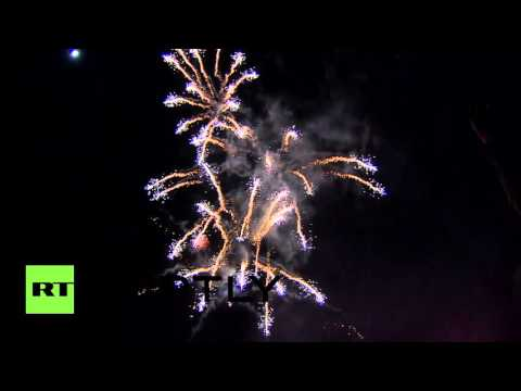 Crimea Celebrations: Fireworks mark 2nd anniversary reunification with Russia