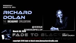 Ep. 430 FADE to BLACK Jimmy Church w/ Richard Dolan: Secret Space Program 3 LIVE