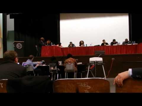 NPS Budget Hearing at Barringer High School 3-31-14