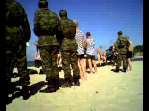 Russian army marine / Русская армия солдаты на море