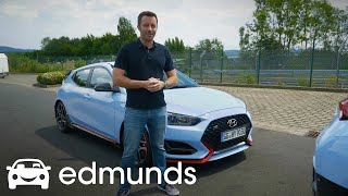 Lapping the 2019 Hyundai Veloster N at the Nürburgring! | Edmunds