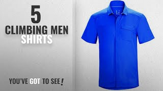 Top 10 Climbing Men Shirts [2018]: Arc'teryx Skyline Short-Sleeve Shirt - Men's Adrift, S