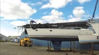Winterzeil voor zeilboot