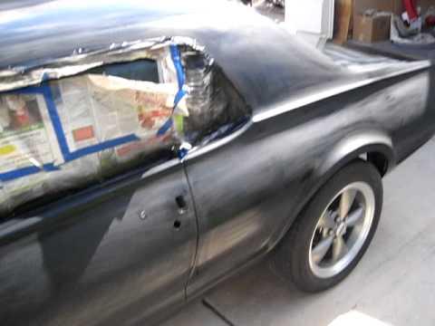 Textured Car Paint Job
