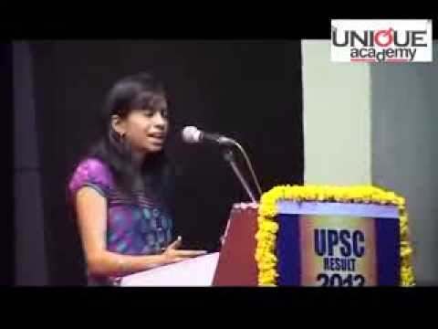 The Unique Academy Upsc Toppers Success Story 1 video