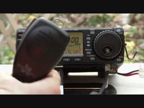 Icom 703 Plus Using 40 Meter Workman Antenna