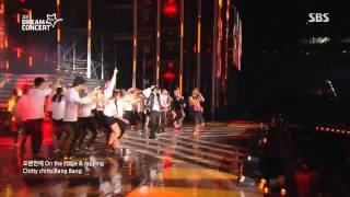 MFBTY ft. LE (EXID) + Suga + Rap Monster (BTS) + Baro (B1A4) - Monster @ SBS 2015 Dream Concert