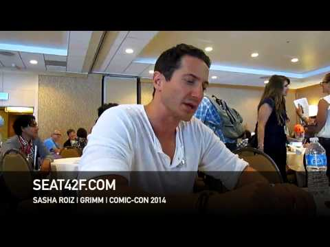 Sasha Roiz GRIMM Interview Comic Con 2014