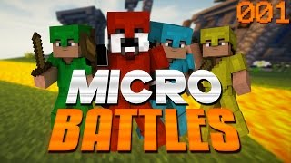 Minecraft Micro Battle #1 - A NEW SERIES!