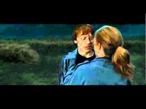 Harry Ron And Hermione Hugging Ron And Hermione Hug Scene hd