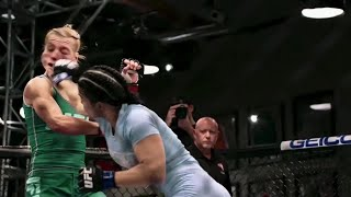 Watch the highlights of Rachael Ostovich-Berdon vs Melinda Fabian | The Ultimate Fighter