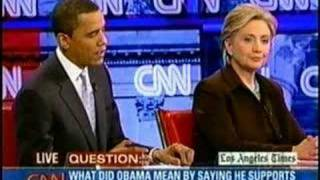 Hillary & Obama on Immigration