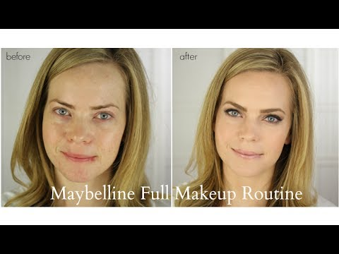 Maybelline Full Makeup Routine