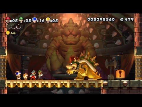 SGB Play: New Super Mario Bros. U - Finale