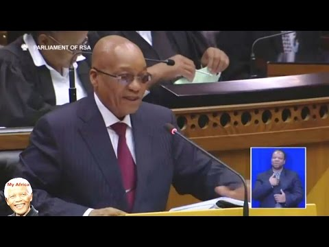 Jacob Zuma Laughs Away Questions Again.
