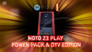 Motorola MOTO Z3 PLAY POWER PACK & DTV EDITION - unboxing