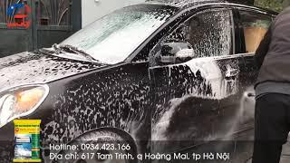 Siêu phẩm rửa xe - bột rửa xe không chạm OPS