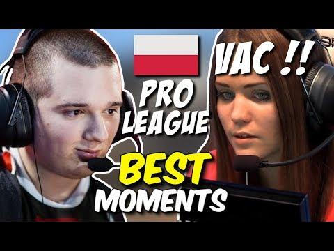 POLISH PRO LEAGUE !!, JULIANO VAC SHOT, GRUBY CLUTCH  - CS:GO BEST MOMENTS