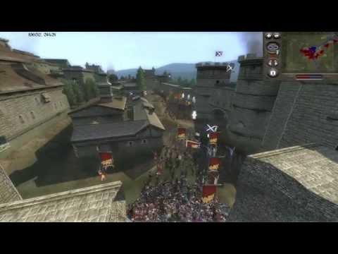 Medieval 2 Total War Online Battle # 13 (3v3 Siege) - Worthy of the Gods!