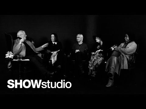 SHOWstudio: Milan Menswear Round-Up 14 JAN 2013 Panel Discussion