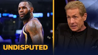 LeBron is disqualified from the GOAT discussion if Kawhi joins him — Skip Bayless | NBA | UNDISPUTED