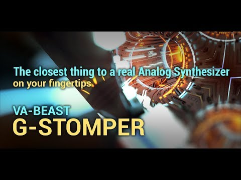 G-Stomper VA-Beast Synth DEMO APK Cover