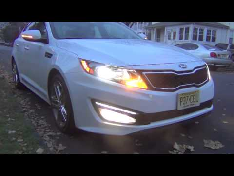 2013 KIA OPTIMA SXL LIMITED LIGHTS