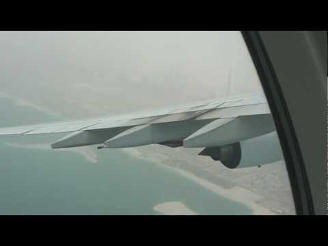 Emirates A380 Take off from Dubai International 28th May 2012 HD