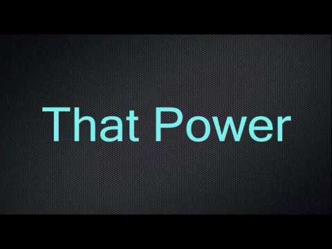 Will.i.am ft. Justin Bieber - #That Power【LYRICS】