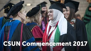 CSUN Commencement 2017: Health & Human Development II and Humanities