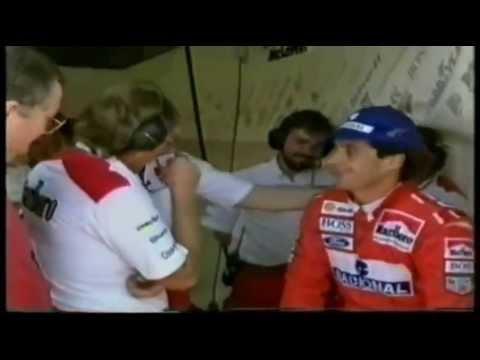 Pole Position inesperada de Ayrton Senna (única PP de 1993)