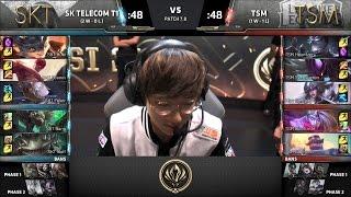 【MSI季中冠軍賽】第二日 小組賽 SKT vs TSM