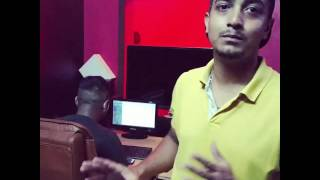 HAZZY & SHAH WORKING ON BABY GIRL TRACK(MIXING MASTERING BY SHAH)