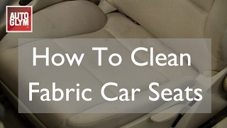 How To Clean Fabric Car Seats