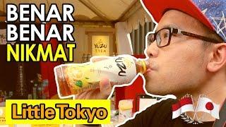 AKHIRNYA DI JEPANG - YUZU TEA SEGARNYA BEDAAA !!! #LiveUnYUZUal | Ennichisai 2017 Little Tokyo