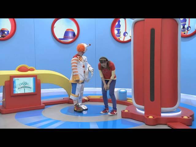Playground con Fer y Liesl: Video Musical ¨La máquina de los personajes¨