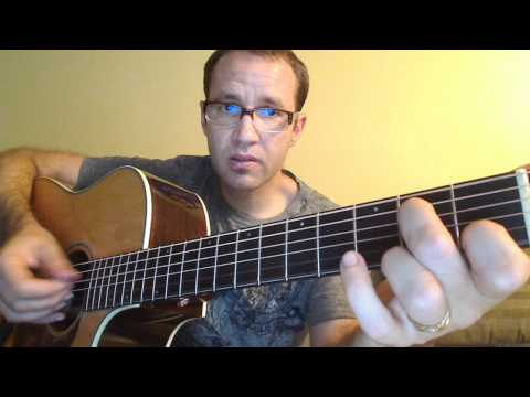 Guitar Lesson - Key of G - 3.0 - Em7 chord and Am7 chord