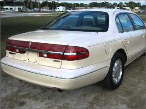 1996 lincoln continental venice fl youtube. Black Bedroom Furniture Sets. Home Design Ideas