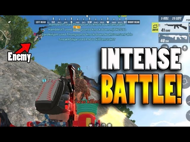 0% SKILLS? INTENSE BATTLE!! (Rules of Survival: Battle Royale) [TAGALOG] [TEAMPH]
