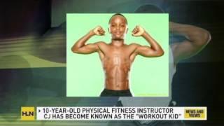 Download CNN: 10-year-old, CJ Senter is a workout wonder 3Gp Mp4