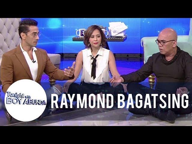 Raymond teaches Rachel and Tito Boy yoga | TWBA