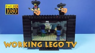 Working LEGO TV - Taking the LEGO Phone Stand to the Next Step - LEGO Life