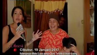 Keseruan Mieke Amalia di Lokasi Syuting Sinetron Komedi Dunia Terbalik - Obsesi 20/01